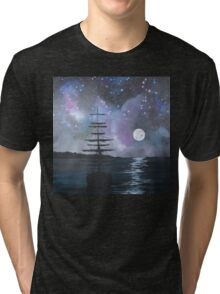 Neverland at Night 2 Tri-blend T-Shirt
