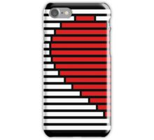 Half heart for couples - left side iPhone Case/Skin