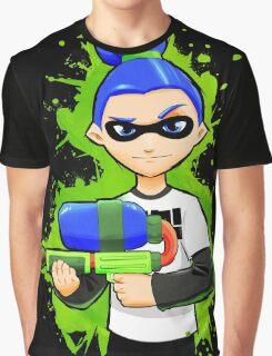 Splatoon Inkling Boy Graphic T-Shirt