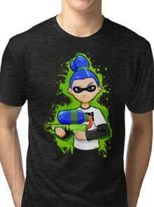Splatoon Inkling Boy Tri-blend T-Shirt