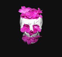 Skull Full of Pink Flowers Unisex T-Shirt
