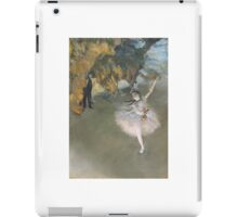 EDGAR DEGAS  THE STAR, OR DANCER ON THE STAGE, C. iPad Case/Skin