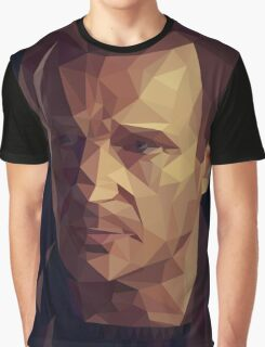 Liam Neeson Low-Poly Graphic T-Shirt