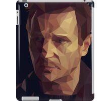 Liam Neeson Low-Poly iPad Case/Skin