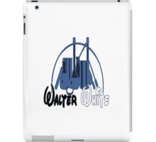 Walter White lab disney style iPad Case/Skin