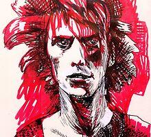 David Bowie by moremeta