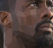 Idris Elba Low-Poly Sticker