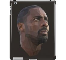 Idris Elba Low-Poly iPad Case/Skin