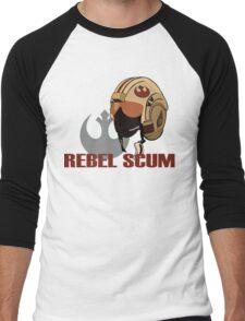 Rebel Scum Men's Baseball ¾ T-Shirt