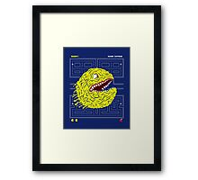 Pakku Man :v Framed Print