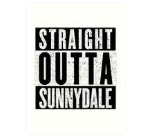 Sunnydale Represent! Art Print