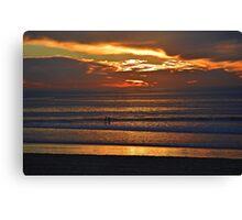 Glowing Clouds ~ Imperial Beach, California Canvas Print