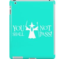 Gandalf White You Shall Not Pass LOTR Lord Of The Rings iPad Case/Skin