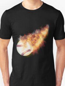 Baseball Flames T-Shirt