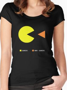 Gamers Women's Fitted Scoop T-Shirt
