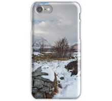Blackrock Cottage Glencoe Highlands of Scotlands iPhone Case/Skin