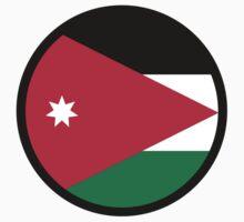 National flag of Jordan by artpolitic