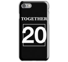 Together 20 Dan and Phil phan Best Friends iPhone Case/Skin