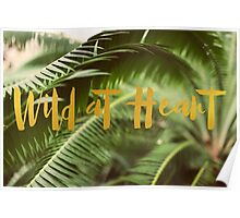 Wild At Heart (Green) Poster