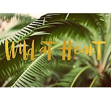 Wild At Heart (Green) Photographic Print