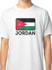 National flag of Jordan Classic T-Shirt