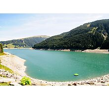 Funsingau Dam and power plant Near Gerlos Pass, Zillertal, Tirol, Austria  Photographic Print