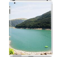 Funsingau Dam and power plant Near Gerlos Pass, Zillertal, Tirol, Austria  iPad Case/Skin