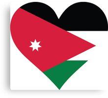 A Heart for Jordan Canvas Print