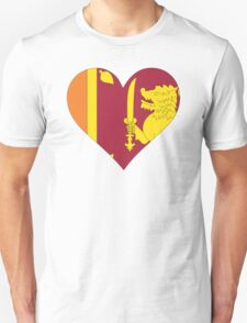 A heart for Sri Lanka T-Shirt