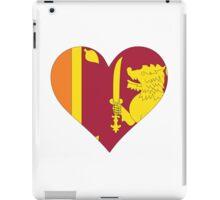 A heart for Sri Lanka iPad Case/Skin