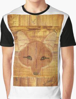 Fox Wood Graphic T-Shirt
