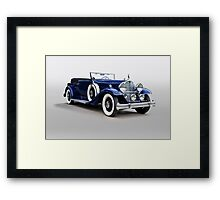 1932 Packard Victoria Convertible I Framed Print
