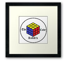 The Rubik's Cube Framed Print
