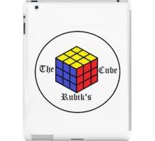 The Rubik's Cube iPad Case/Skin