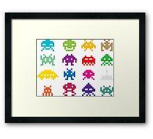 Space Invaders Framed Print