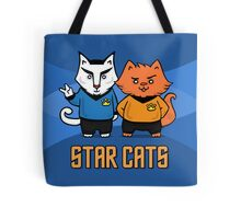 Star Cats Tote Bag