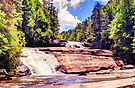 Triple Falls, Dupont Forest by Bill Wetmore