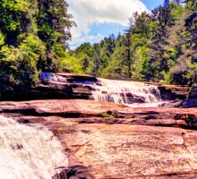 Triple Falls, Dupont Forest Sticker