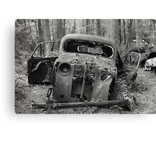 Old Rusty Car #1 Canvas Print
