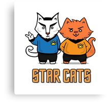 Star Cats Canvas Print