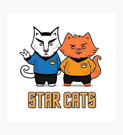 Star Cats Photographic Print