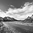 The Deserted Road of the Desert by SeeOneSoul