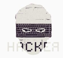 Another Hacker Mask Baby Tee