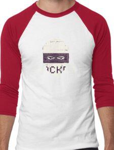 Another Hacker Mask Men's Baseball ¾ T-Shirt