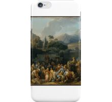 The Triumph of Aemilius Paulus by Carle (Antoine Charles Horace) Vernet iPhone Case/Skin