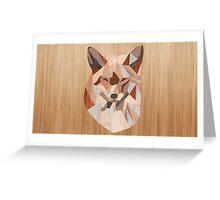 Wood Paneling Greeting Card