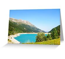 Austria, Zillertal High Alpine nature Park Greeting Card