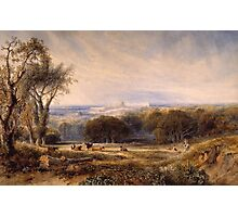 Windsor Castle from the Park by Anthony Vandyke Copley Fielding Photographic Print