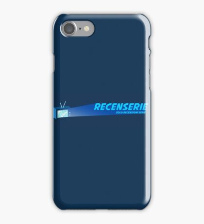 Recenserie Logo Full iPhone Case/Skin