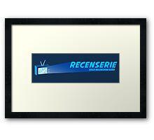 Recenserie Logo Full Framed Print